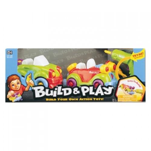 "Набор ""BUILD""N PLAY"" -2 машины( 2 в 1 ) Keenway 11865"