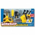 Набор инструментов (защитные очки, электропила, молоток, инструменты) Keenway