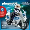 Полиция: Полицейский мотоцикл Playmobil 5185pm