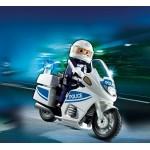 Полиция: Полицейский мотоцикл Playmobil (Плеймобил)