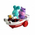 Развивающая игрушка Спасатель Бани на катере Ouaps