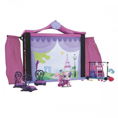 Стильный подиум для показа мод Littlest Pet Shop Hasbro