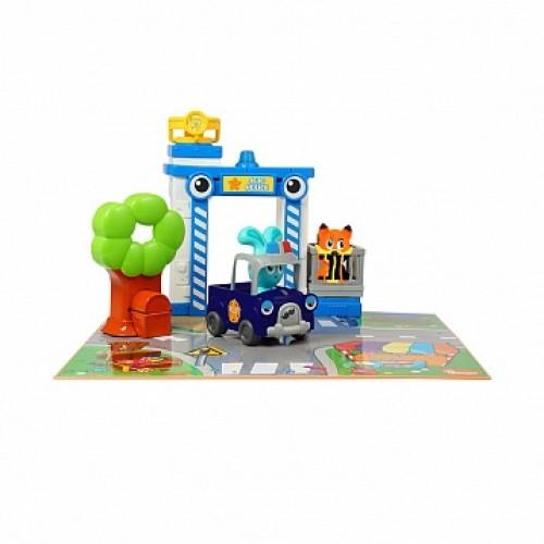 Бани - игровой набор Полицейская станция Ouaps 61148