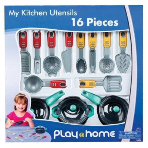 Игровой набор Моя кухня, 16 предметов Keenway 21664