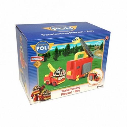 Кейс для трансформера Рой Робокар Поли (Robocar Poli)