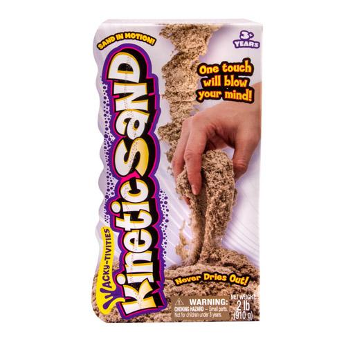 Кинетический песок для лепки коричневый, 910 гр.