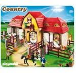Лошади: Большая конюшня Playmobil (Плеймобил)