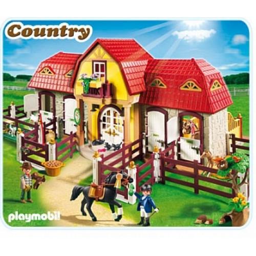 Лошади: Большая конюшня Playmobil 5221pm