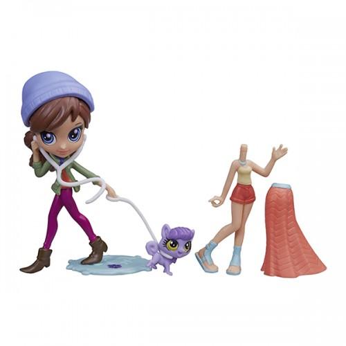 Модница Блайс и зверюшка (в ассорт.) Littlest Pet Shop Hasbro