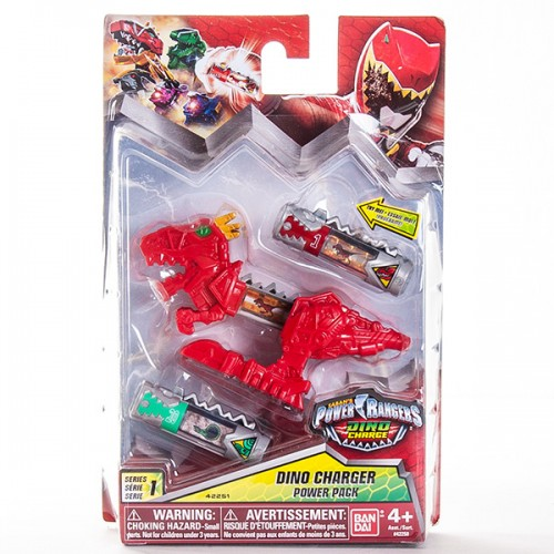 Могучие рейнджеры Фигурка динозорда + 2 Дино заряда Power Rangers Samurai Bandai (Бандай)