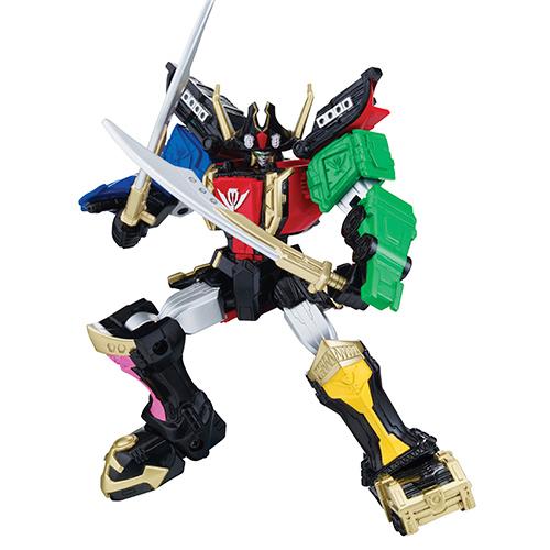 Могучие рейнджеры Легендарный Мегазорд подвижный. Power Rangers Samurai Bandai (Бандай)