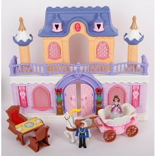 "Набор:"" Fantasy Palace ""- дворец с каретой и предметами Keenway 20160"