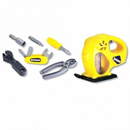 Набор инструментов (электрорубанок, отвёртка, инструменты) Keenway 12763