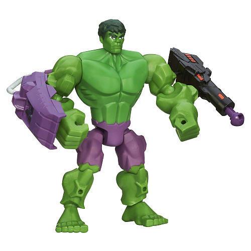 Разборные фигурки Марвел с оружием Hasbro
