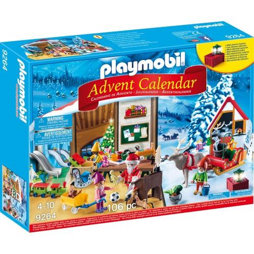 Адвент-календарь - Мастерская Санта-Клауса Playmobil