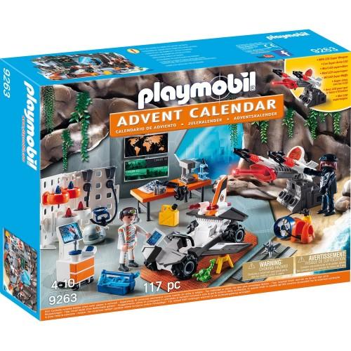 Адвент-календарь - Суперагенты Playmobil
