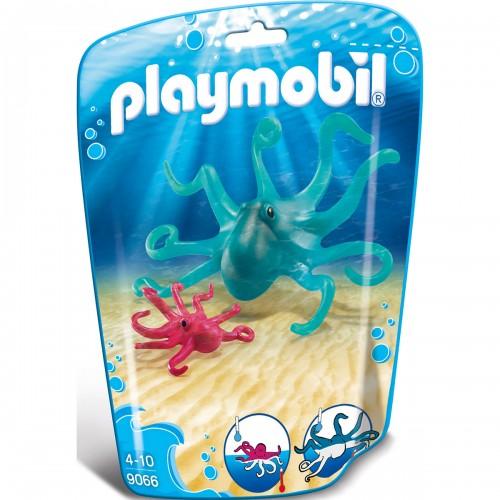 Аквариум: Осьминог с детенышем Playmobil