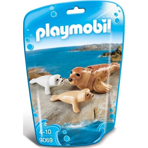 Аквариум: Тюлень с детенышами Playmobil