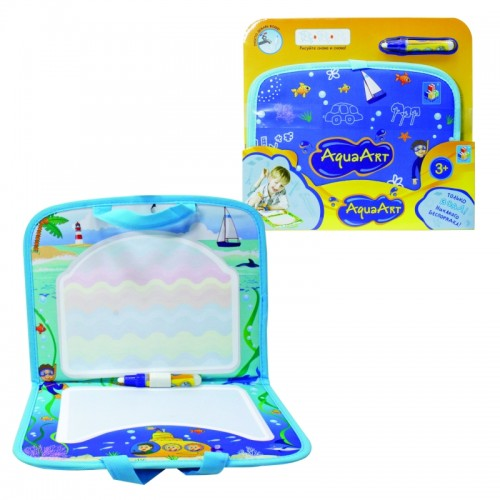AquaArt коврик для рисования водным маркером синий 1TOY