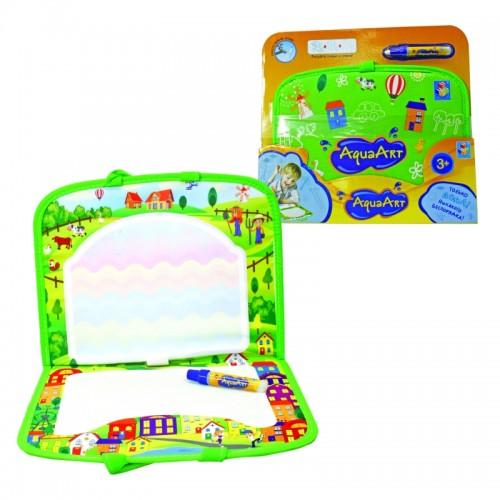 AquaArt коврик для рисования водным маркером зеленый 1TOY