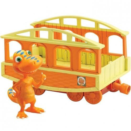 """Бадди 6см с вагончиком """"Поезд Динозавров"""""""