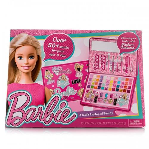 Barbie Большой Игровой набор детской декоративной косметики в кейсе Markwins