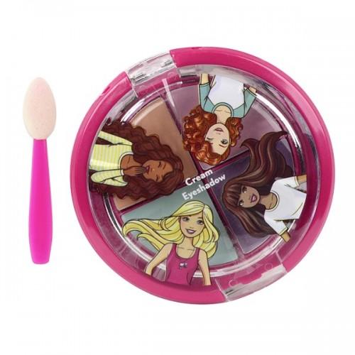 Barbie Игровой набор детской декоративной косметики для глаз Markwins