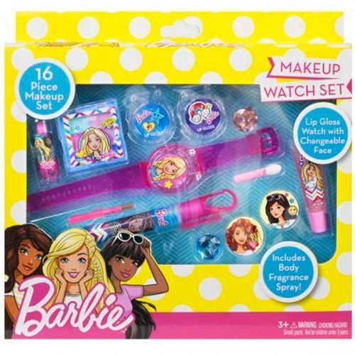 Barbie Игровой набор детской декоративной косметики для лица Markwins