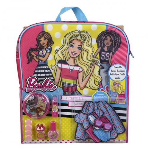 Barbie Игровой набор детской декоративной косметики с рюкзаком Markwins