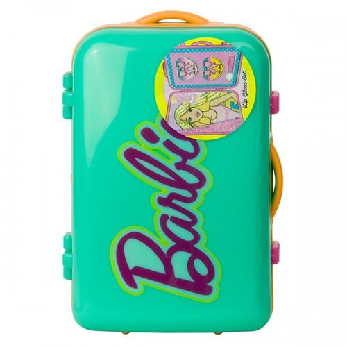 Barbie Игровой набор детской декоративной косметики в чемоданчике зел. Markwins