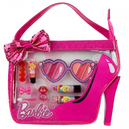 Barbie Игровой набор детской декоративной косметики в сумочке Markwins