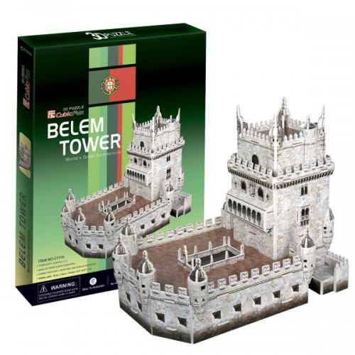 3D пазл Башня Белен (Португалия) CubicFun