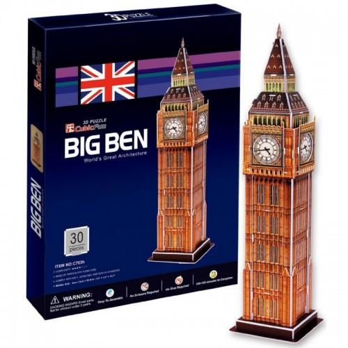 3D пазл Биг бен 2 (Великобритания) CubicFun