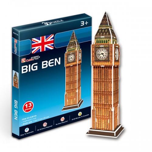 3D пазл Биг бен (Великобритания) (мини серия) CubicFun