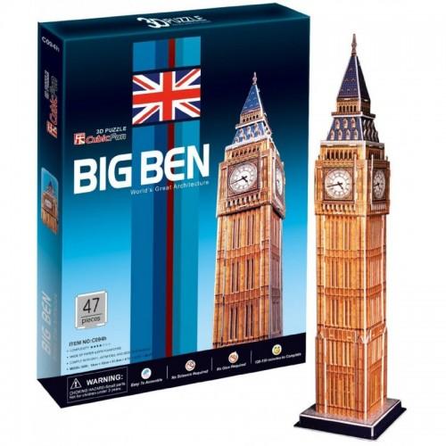 3D пазл Биг бен (Великобритания) CubicFun