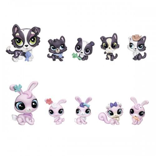 Большая семейка Littlest Pet Shop Hasbro