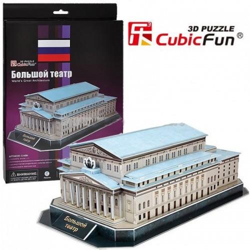 3D пазл Большой театр (Россия) CubicFun