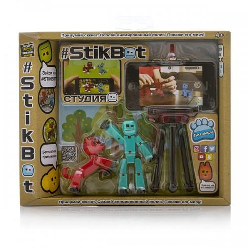 Cтудия с питомцем Stikbot
