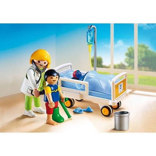 Детская клиника: Доктор с ребенком Playmobil (Плеймобил)