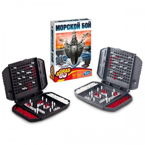 Дорожная Игра Морской бой Hasbro