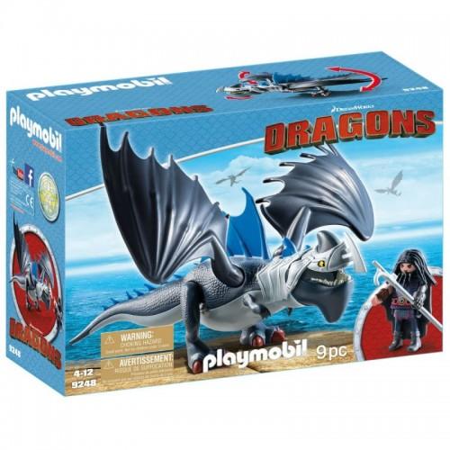 Драконы: Драго и Громокоготь Playmobil (Плеймобил)