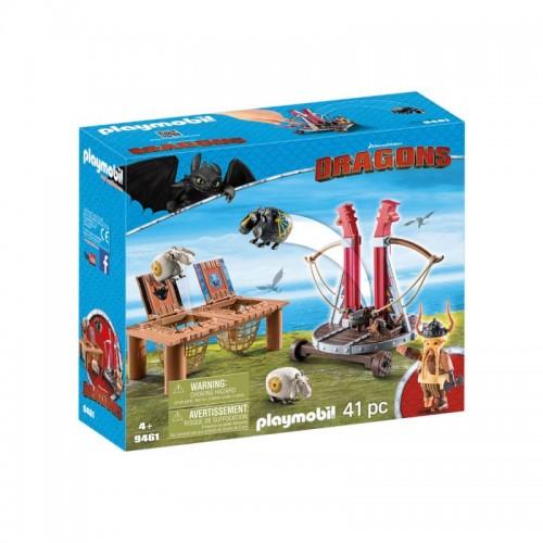 Драконы: Плевака и Вепр Playmobil (Плеймобил)