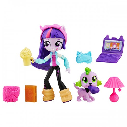 Equestria Girls мини-кукла с аксессуарами, в ассорт. My Little Pony Hasbro