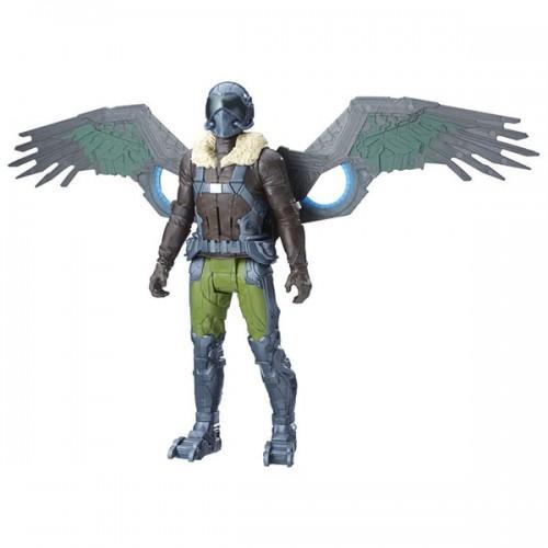 Фигурка Титаны Человек-паук электронный злодей Hasbro