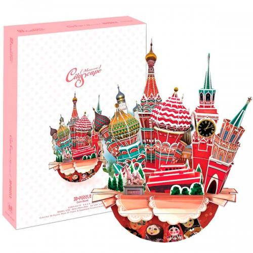 3D пазл Городской пейзаж - Москва CubicFun