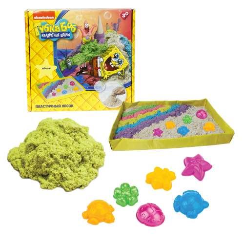 Губка Боб космический песок жёлтый 1 кг