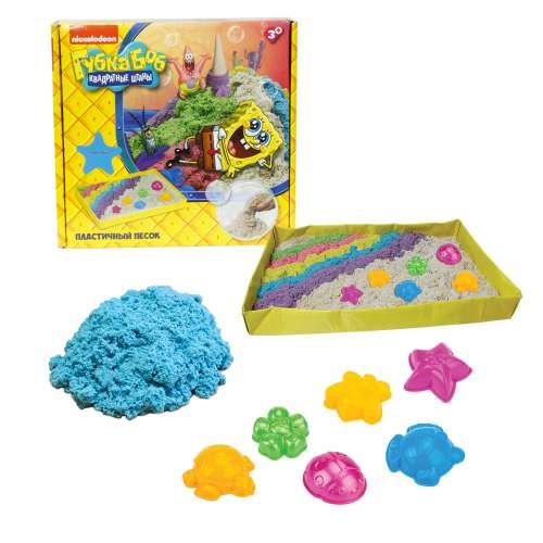 Губка Боб космический песок голубой 1 кг