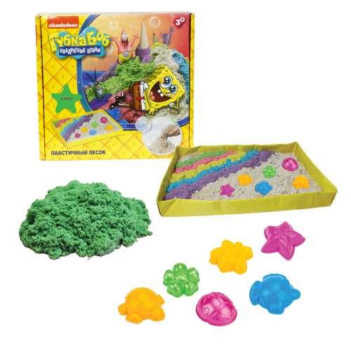 Губка Боб космический песок зелёный 1 кг