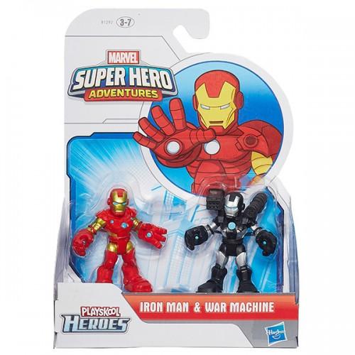 Heroes фигурка героев Марвел 2-в-1 в ассортименте Playscool Hasbro