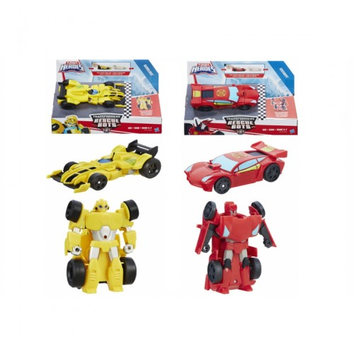 Heroes Трансформеры Спасатели: Гоночные машинки Playscool Hasbro
